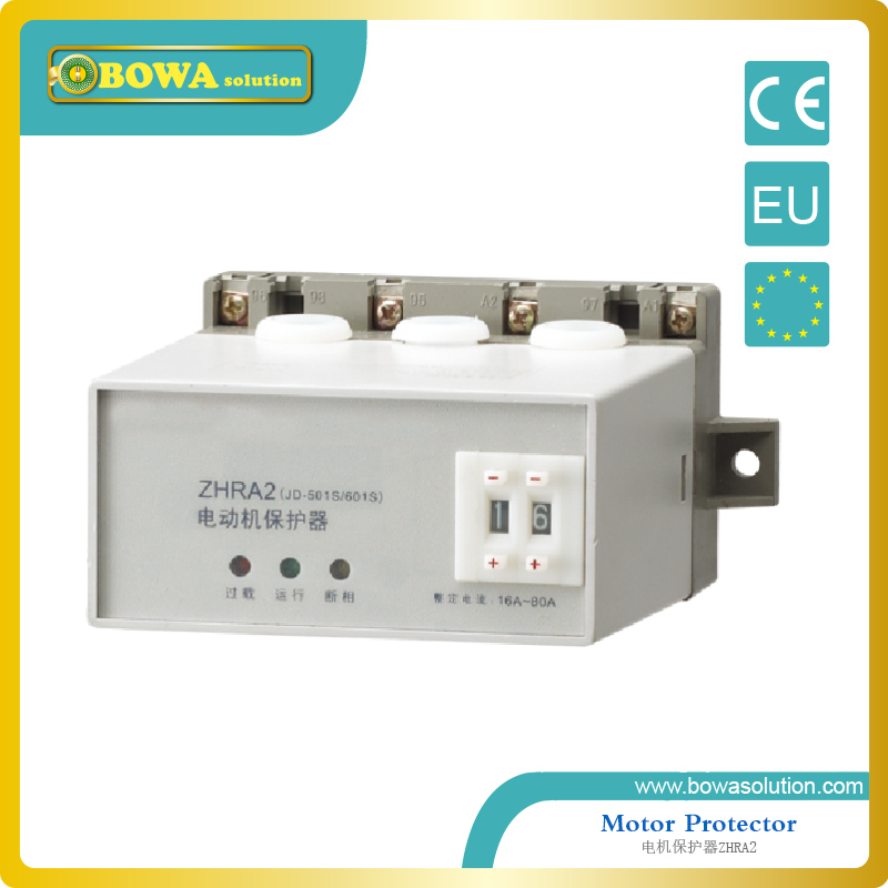 Motor Protector for protecting three phase motor applied in Water Pump ZHRA2-N80A~400A/AV380V korea three and eocr motor protector eocr 3dm ac220