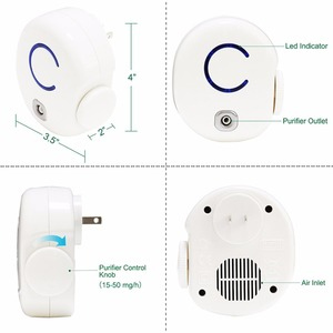 Image 3 - Stock in Russia  Wall mounted 50mg/hr Ozone Purifier For Restroom Eliminate Odor Thoroughly
