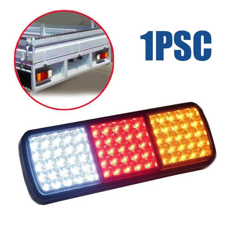 1 pièces 12 V 75 LED camion caravane feu arrière lampe frein/indicateur de marche arrière