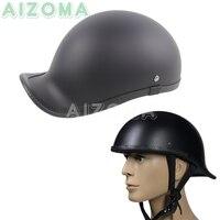5 Sizes Motorcycle Helmet Retro Half Face Summer Helmet Universal Vintage Japanese German Style Helmets For Chopper Scooters