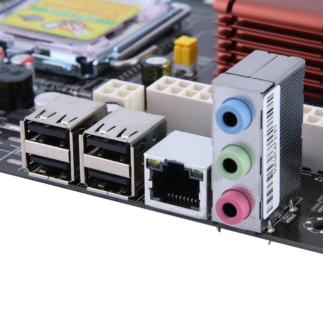 P45 Motherboard Computer Fast Ethernet Mainboard 771/775 Dual Board DDR3 8GB Support L5420 High Compatibility Drop Shipping 4