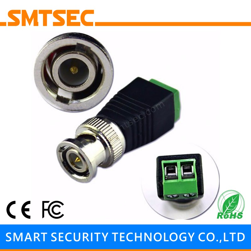 Transmission & Cables 100pcs Bnc Male To Dc Connector Coaxial Connector Rg-58/u Rg-59/u Rg-6/u Cable For Cctv Camera bnc-116