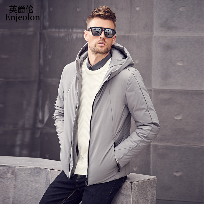 ICEbear 2019 new autumn men s jacket short casual coat overcoat hooded man jackets high quality