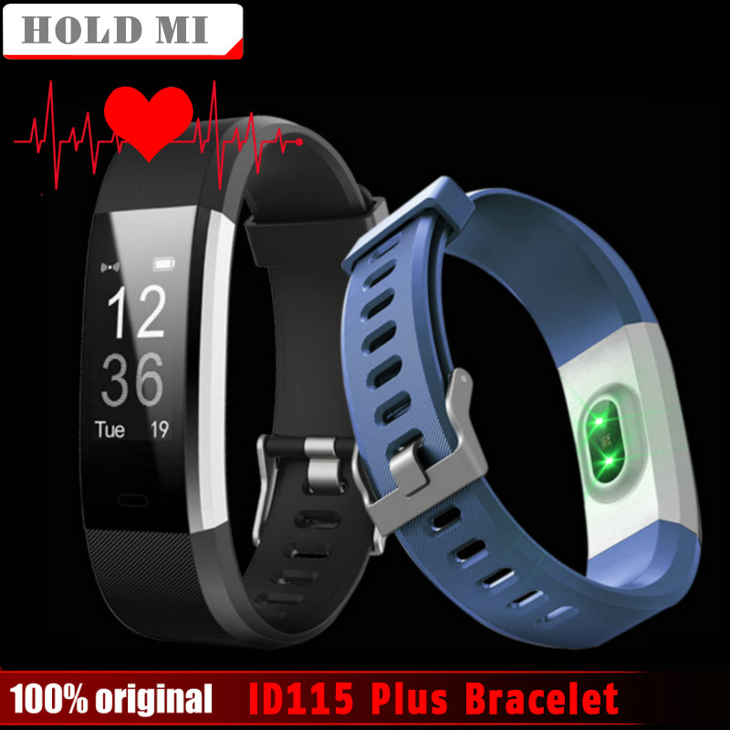 Hold Mi ID115 Plus Heart Rate Smart Band 0.96