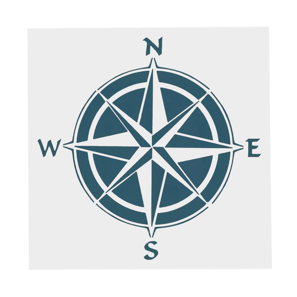 Compass stencil,Stencil Craft Stencil Card making Airbrush