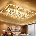 Современные светодиодные потолочные лампы с квадратной поверхностью для гостиной