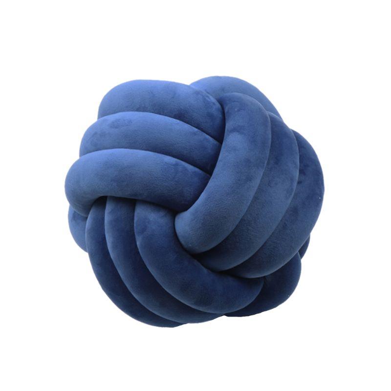 Soft Knot Ball Cushions Bed Stuffed Pillow Home Decor Cushion Ball Plush Throw