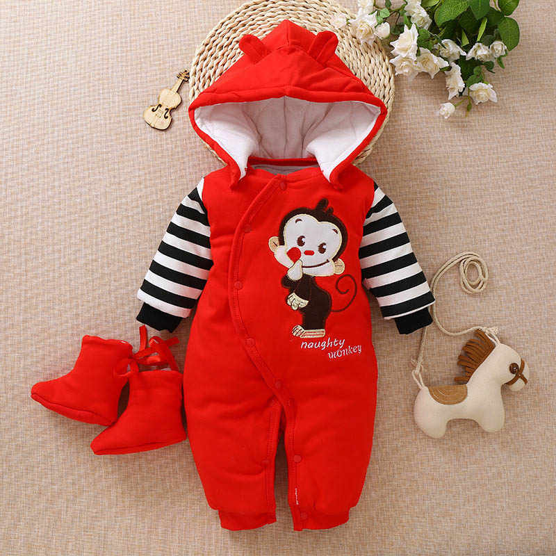 6ed687d6dd4f Detail Feedback Questions about BibiCola baby rompers newborn winter ...