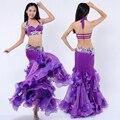 Новый 2016 Сексуальный Восточный Танец Живота Костюмы для Женщин Сексуальные Танцы Практикующих танец живота Платья Костюмы S/M/л. супер качество