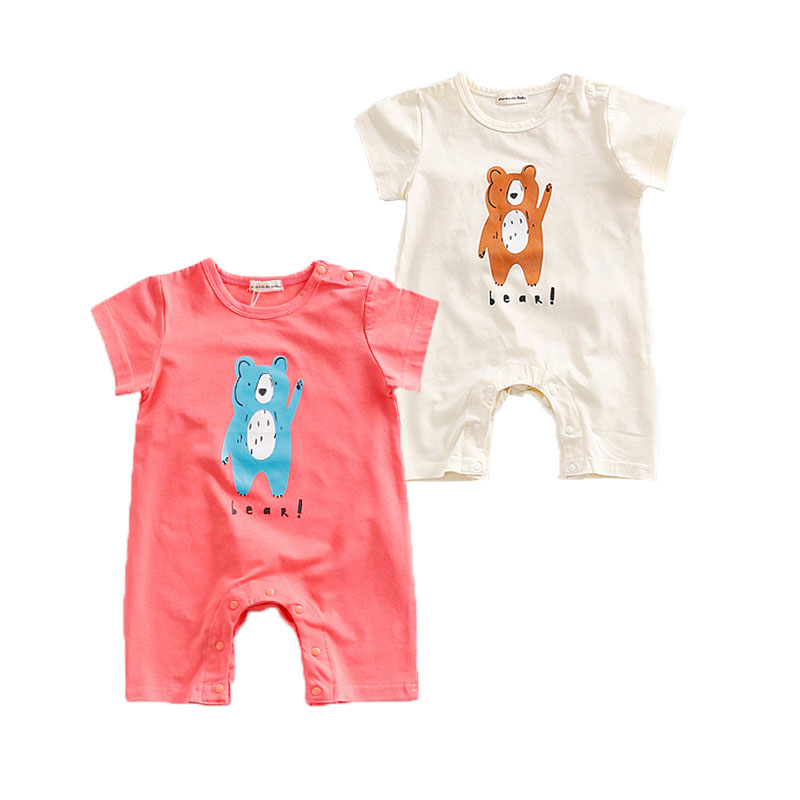 Toddler Baby Rompers Summer Baby Girls Clothing Sets Animal Newborn Baby Clothes for Boy Roupas Infant Costume Baby Jumpsuits baby rompers winter star patter long sleeve jumpsuits infant boys girls clothes newborn toddler costume children autumn clothing