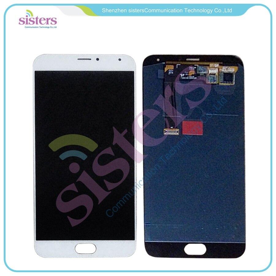 Écran LCD blanc ou noir testé + numériseur tactile pour 5.5 ''Meizu MX5 MX 5 blanc ou noir livraison gratuite