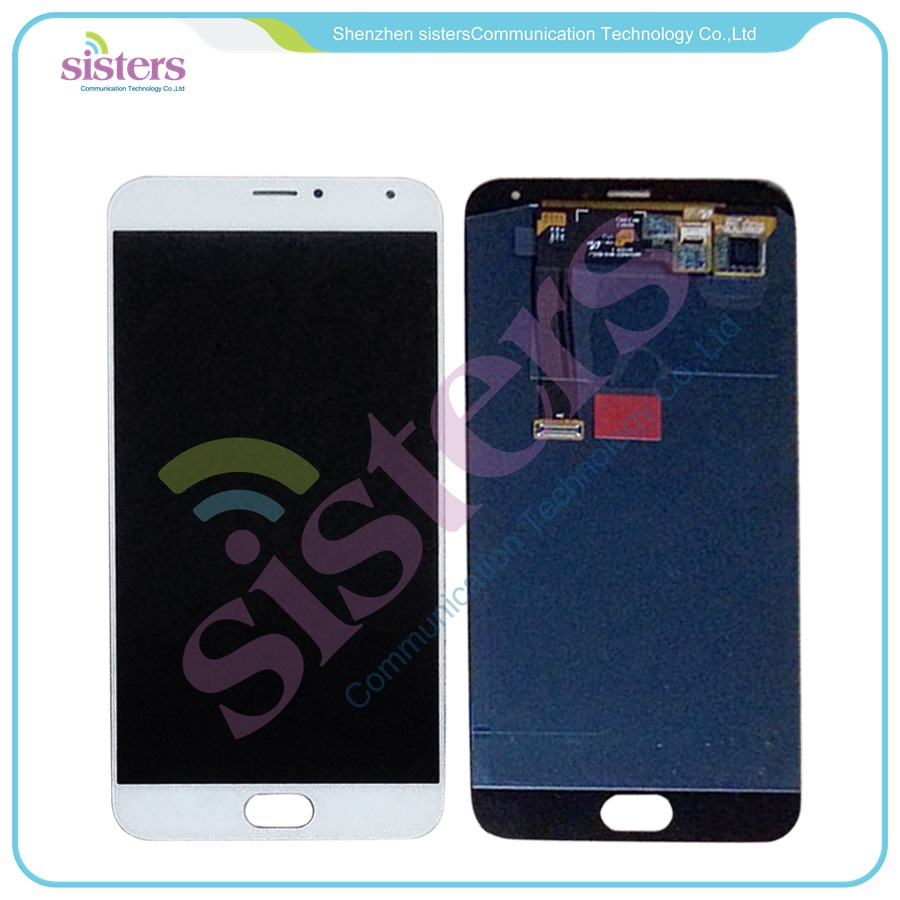 White or Black tested LCD Screen display +Touch Digitizer For 5.5 Meizu MX5 MX 5 White or Black Free shippingWhite or Black tested LCD Screen display +Touch Digitizer For 5.5 Meizu MX5 MX 5 White or Black Free shipping