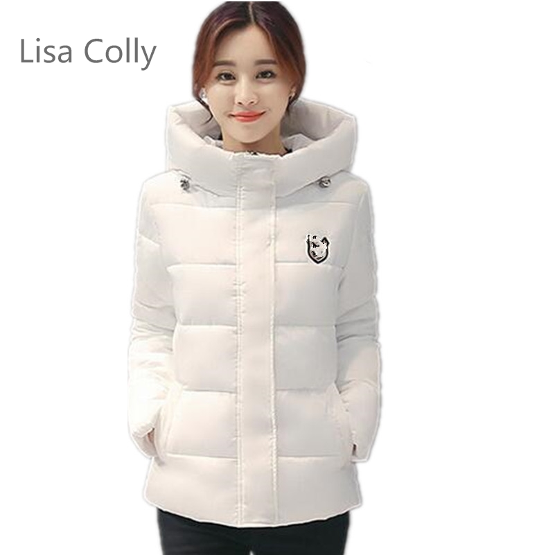 Lisa Colly new Autumn winter parkas women cotton coat thickness overcoat casual overcoat Women outwear 11 Colours M-3XL Size lisa corti короткое платье