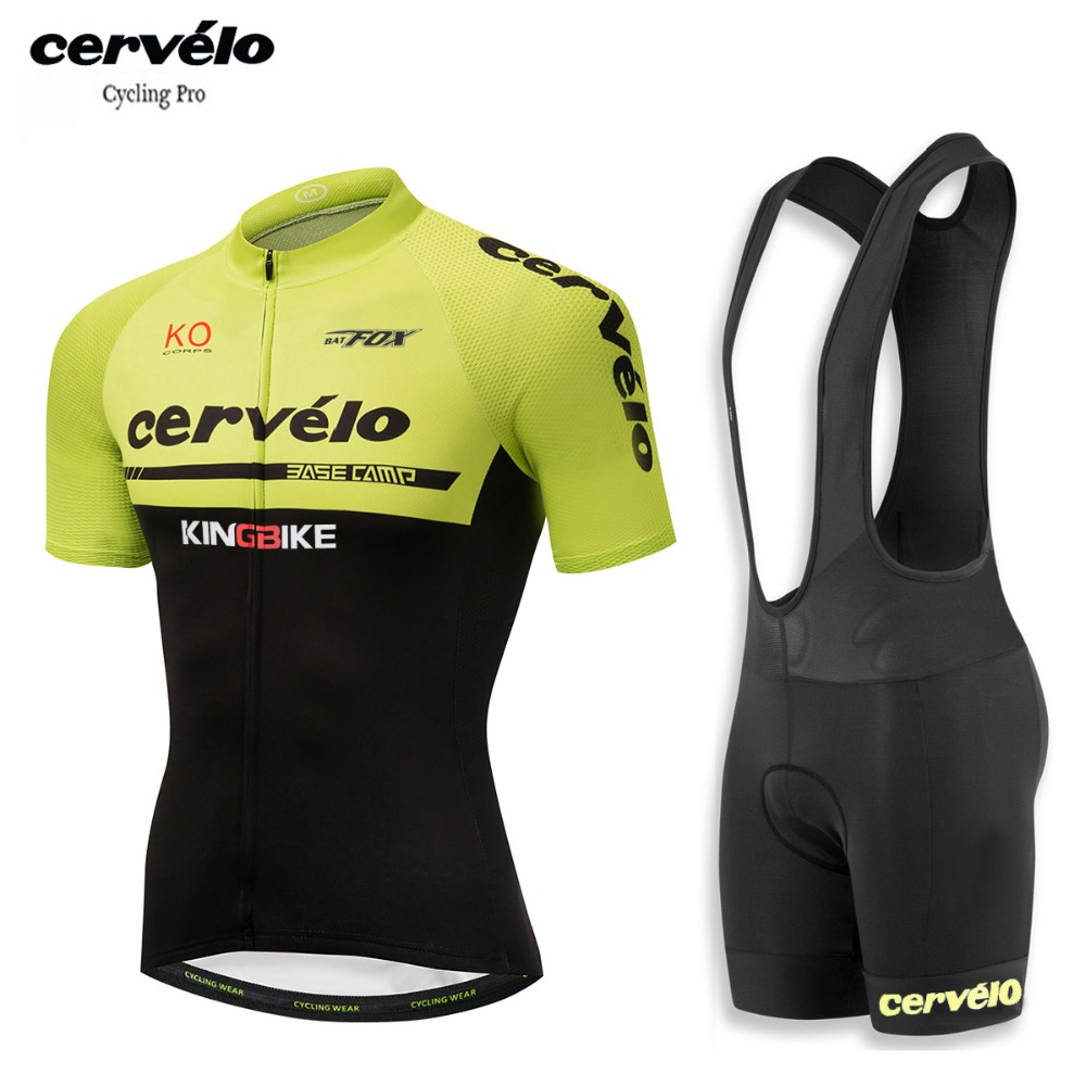 2018 Pro Team Cycling Clothes Mans Racing Bicycle Clothing MTB Bike Shirt Compressed Maillot Ropa Ciclismo Green Cycling Jerseys
