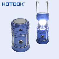 HOTOOK Portable Lantern Camping Solar Flashlight LED With Battery USB Tourist Tent Lamp Rechargeale Emergency for Riding Hiking