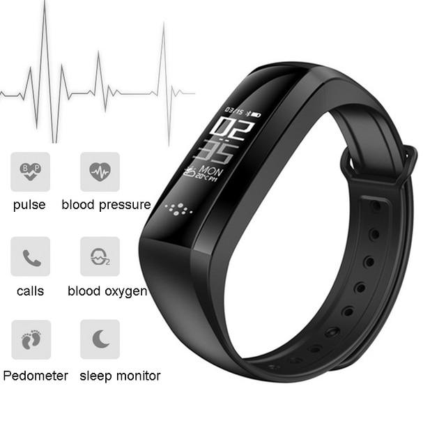 Letike WP-107 Wristband Smart Watch Bracelet Heart Rate Monitor Fitness Tracker Smartband Pedometer IP6 for Smartphone PK miband