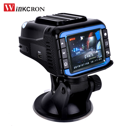 3 in 1 Car DVR Camera+Radar Detection+ GPS Tracker Logger Auto Detector 2.4