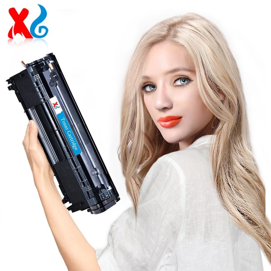 1X Q2612A 12A Compatible Toner Cartridge Replacement for HP Laser Printer LaserJet 1010 1012 1015 1018 1020 1022 3020 Q 2612A