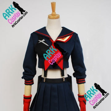 Kill la Kill Cosplay Ryuko Matoi Cosplay Blue Womens Kill la Kill Cosplay Costume
