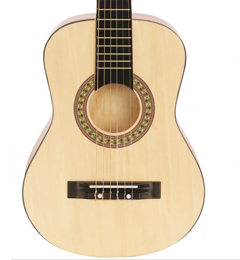 Top Quality  30 inch Classical Guitar Children Guitar  Wood Guitar Wood Color Nylon Strings Free Shipping hot sale top quality white lp custom guitar with golden hardware electric guitar free shipping white color