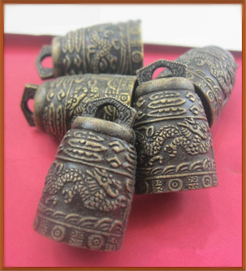1 Stück Chinesische Feng Shui Antiken Lmitation Glocke Windspiel Wohnkultur Maskottchen Für Glück MöChten Sie Einheimische Chinesische Produkte Kaufen?