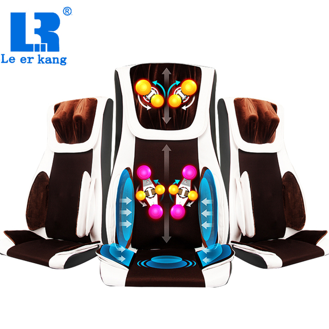 Back Massage Chair Kitchen Cushions Pier One Electric Full Body Sofa Multifunction Heating Shoulder Cushion Relax Muscle Therapy