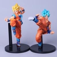 Dragon Ball Z Budokai Super Saiyan Anime Son Goku model action figure Super Saiyan God 22~24cm collection toy gift