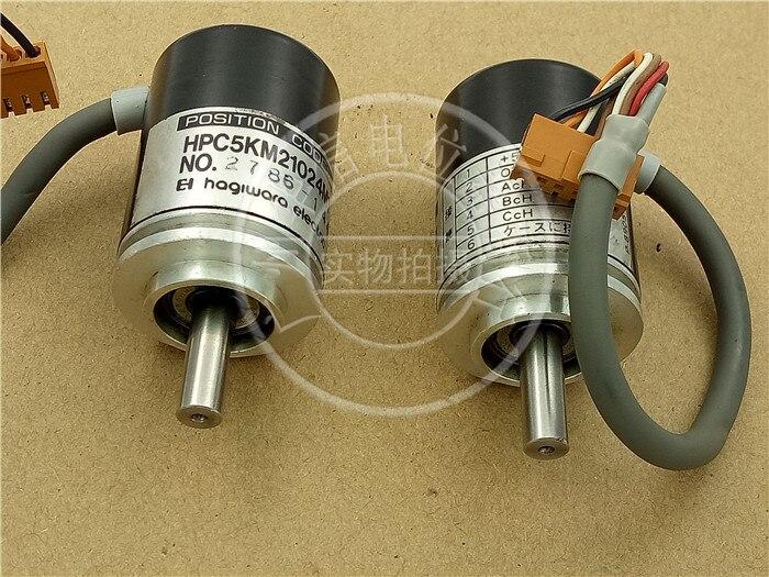 [VK] utilisé HPC5KM21024M1 2786-141 5 V 6 fils encodeur optique servo commutateur d'installation