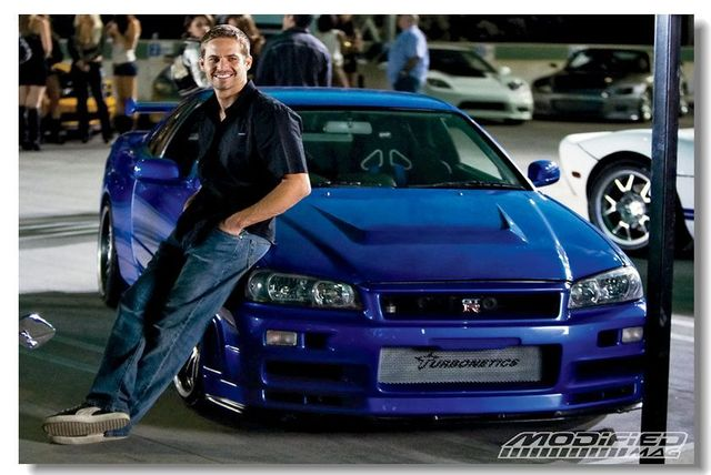 Free Shipping Custom Home Decoration Paul Walker Wallpaper Fast And Furious Poster Size 50x76cm