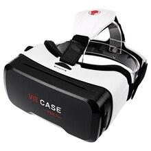 Chaude VR CAS RK 6e 130 Large Ange Degré 3D VR lunettes Ultra-clair Enduit Len Réalité Virtuelle VR Cas pour 4-6.5 Pouce Smartphone