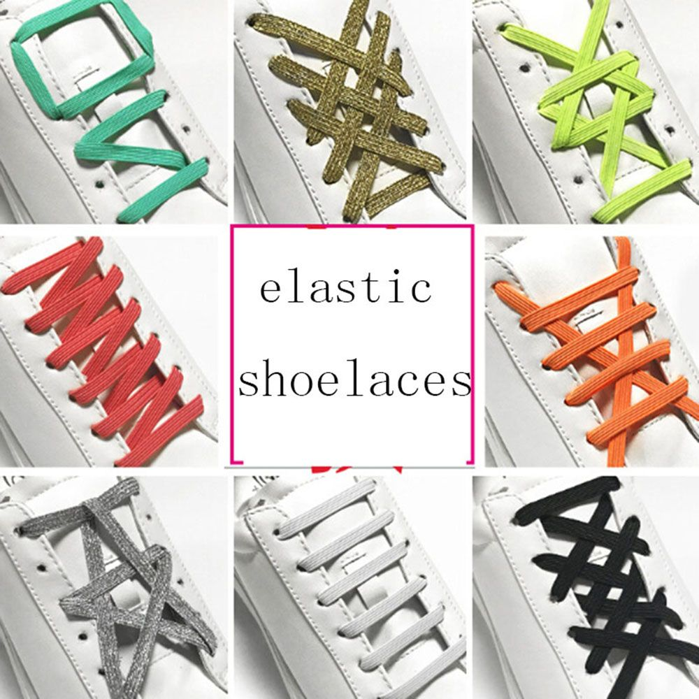 1pair Fashion Novelty Strong Quick Easy Magnetic Shoelaces For Sneakers Shoes Buckles Closure No Tie Shoelace Buckle Dropship