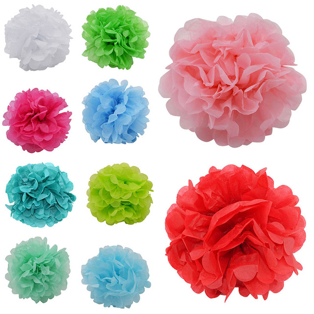 Aliexpress buy 5pcsset 15cm colorful paper flowers ball 5pcsset 15cm colorful paper flowers ball wedding home birthday party car decoration tissue paper mightylinksfo