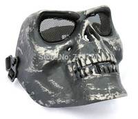 M02 Skull masks Ghost airsoft mask military Skeleton Warrior horror imitation Halloween party props U.S. Army Tactical CS mask