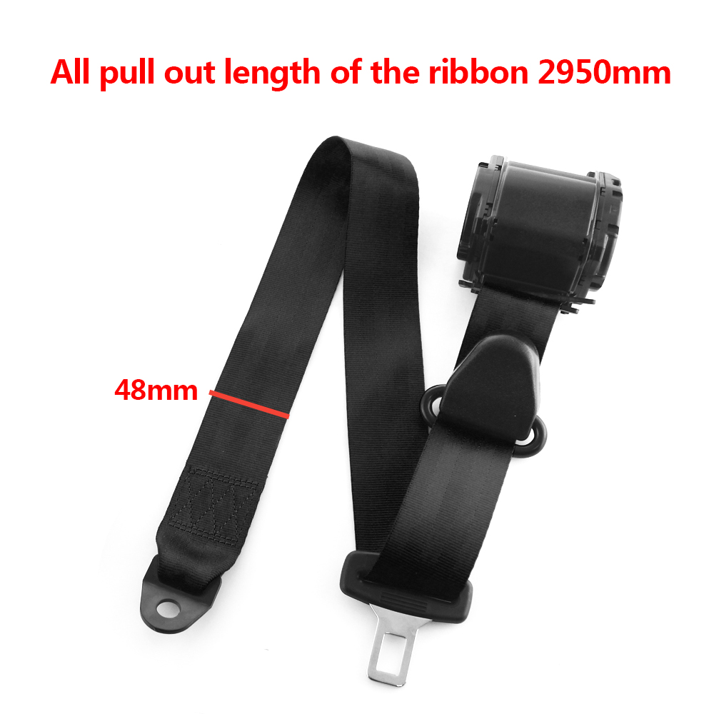 Safety Belt Us 31 01 34 Off Universal 3 Point Car Seat Seatbelt Safety Belt Extender Extension 2 1cm Buckle Black Gray Red Fits Most Auto Accessories In Seat