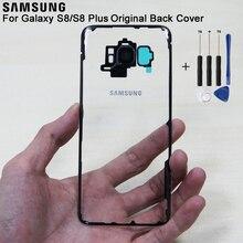 Samsung Original Glass Rear Battery Door Transparent Version For S8 Plus S8+ S8plus SM-G955 G9500 Housing Back Cover