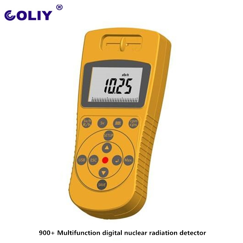 Germany 900 Multifunction digital nuclear radiation detector alpha beta gamma and x rays font b Geiger