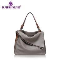 NEW Genuine Leather Women Shoulder Bags Long Strap Messenger Tote Bag Handbags Lady Satchel Loui Luxury