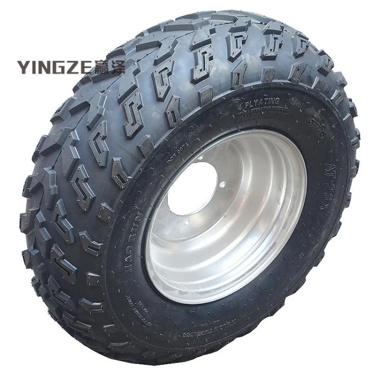 Go Kart Parts & Accessories Enthusiastic Go Kart Karting Atv Utv Buggy 23x7-10 Inch Wheel Tubeless Tyre Tire With Aluminum Alloy Hub Moderate Cost