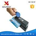 13.56 MHz RFID Lector y Escritor de Tarjetas y USB Lector de 3 Pistas de Tarjetas de Banda Magnética SM100-RF, Freeship