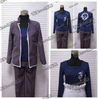 Anime Shokugeki no Soma Yukihira Souma Cosplay Costume Uniform Coat+shirt+pants+apron+kerchief Free Shipping