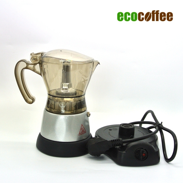 Free Shipping 3 cups Electrical Espresso Coffee Maker Espresso Moka Pot 220V