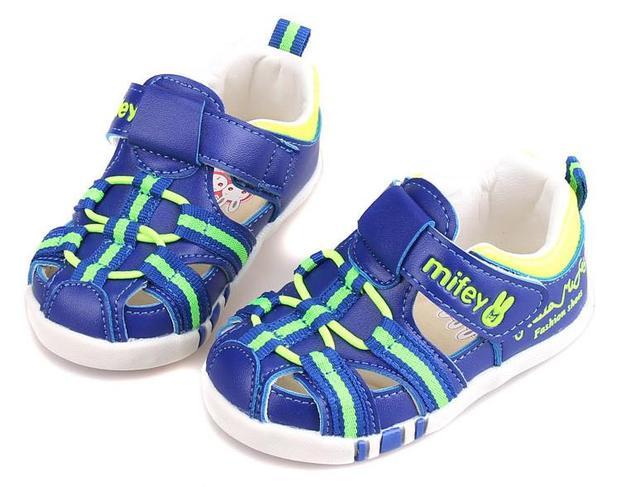 New 1 par pu menino/menina crianças sandals shoes, crianças/criança verão shoes