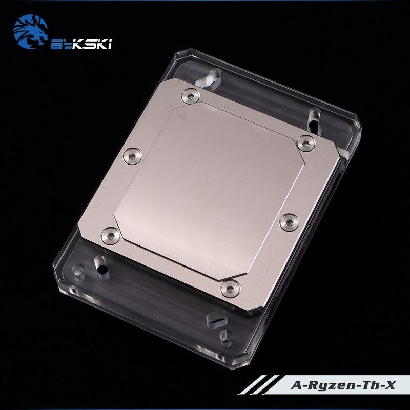 Bykski refroidissement par eau radiateur CPU bloc utilisation pour AMD Ryzen frein à fil AM2/AM3/AM4/TR4/1950X RGB lumière AURA lumière radiateur bloc - 2