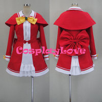 New Custom Made Japanese Anime Tantei Opera Milky Holmes Sherlock Sheryl Shellinford Cosplay Costume For Halloween Christmas