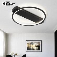 Bwart современная люстра Освещение Крытый творческих ресторан высокая яркость LED Люстра для спальни кухня гостиная лампы
