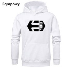 2019 new fashion brand mens etnies hooded printed sweatshirt cool skateboard hoodie jacket streetwear hip hop