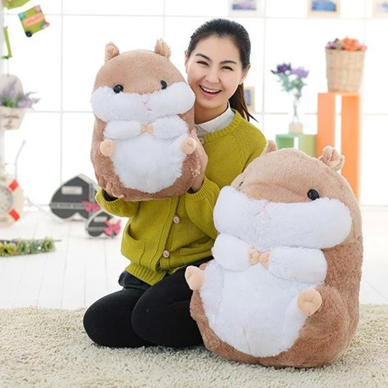 Japan Cute Hamster Plush Dolls, Plush Toys Guinea Pigs, Hamsters, Dolls, Sent His Girlfriend A Birthday Present