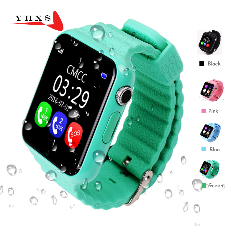 1.54 Screen Waterproof Smart Kids GPS Safe Anti-Lost Monitor Camera Watches Facebook Whatsapp SOS Call Location Device Tracker