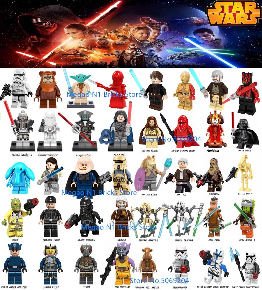 Starwars Characters Cotton Fabric Princess Leia Darth Vader Chewbacca C-3PO FQ