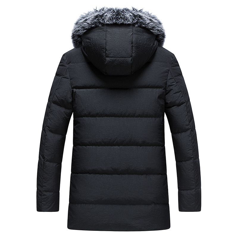 85c2a9d40 AYUNSUE 90% White Duck Down Jacket Men 2018 New Korean Men s Winter ...